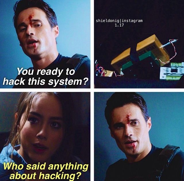 Agents of SHIELD | Skye and Ward
