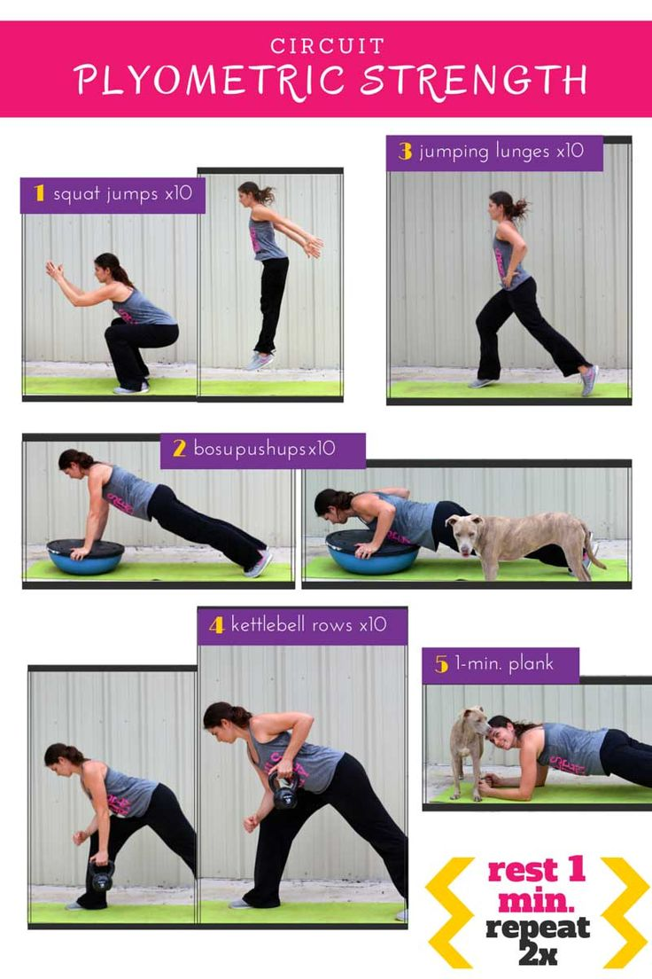 Circuit Training News Plyometric On Pinterest Workouts Workout And Kettlebell Pictures