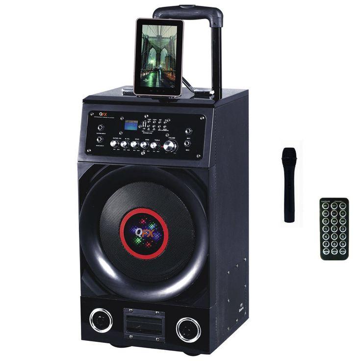 Quantum FX Battery Powered Bluetooth PA Speaker