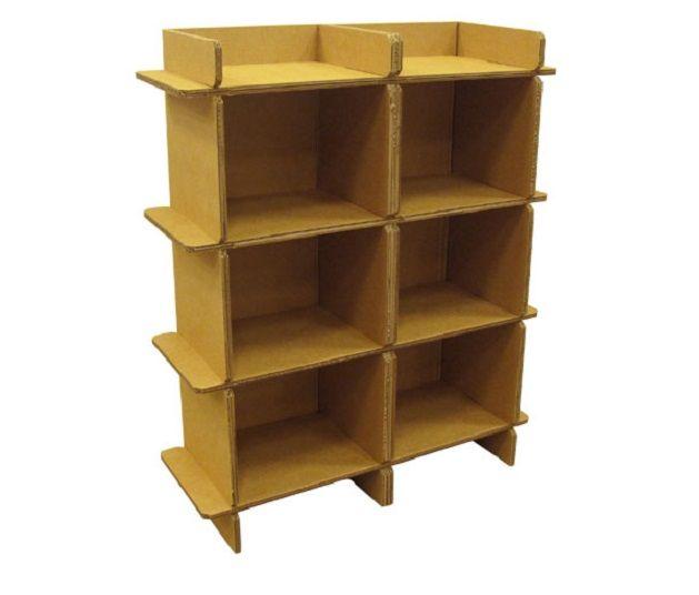 Chairigami: kartonnen meubels die je in elkaar vouwt - | Want.nl