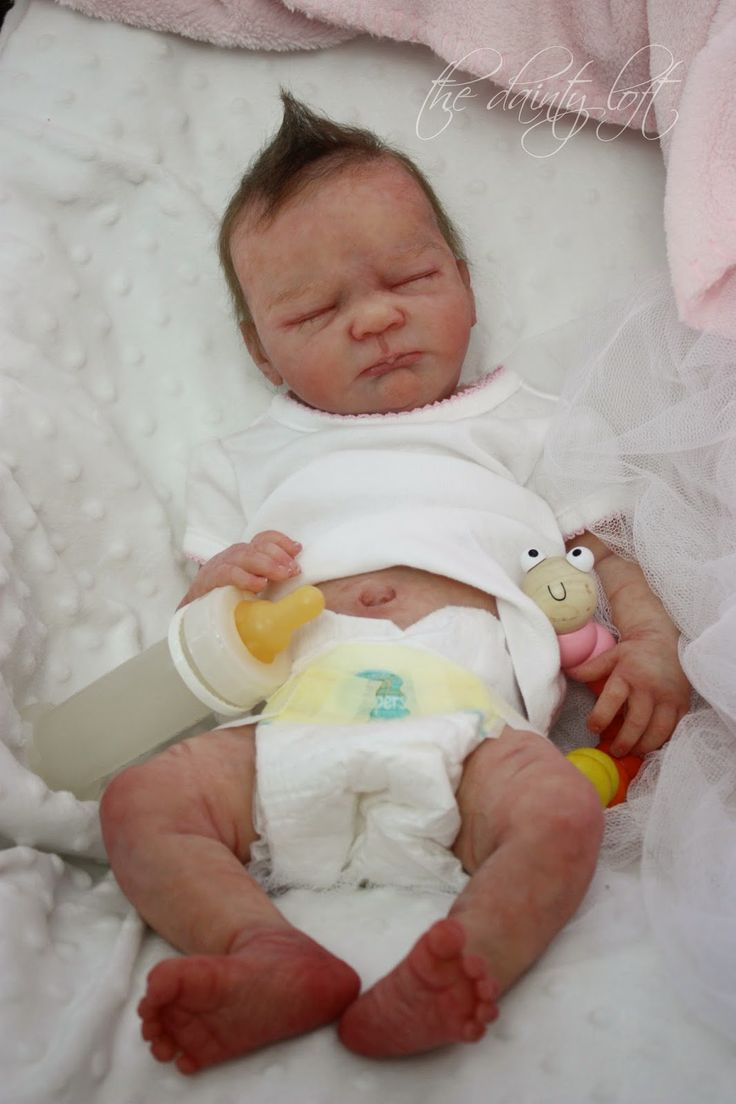 Full body silicone baby for sale 2015 - The Dainty Loft September 2014 Silicone Full Body Kylah Ibbetson Reborn Painted By