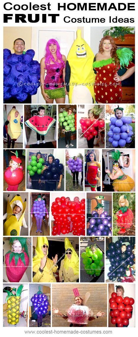 Coolest Homemade Fruit Costumes - Halloween Costume Contest
