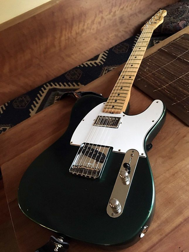 Fender Telecaster 1973 Sherwood Green Metallic