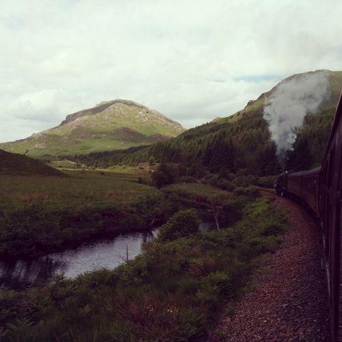 Sunny Scotland #3: Riding the Hogwarts Express
