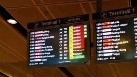 AirAsia flight QZ 8501: No sign of missing flight; unconfirmed ...