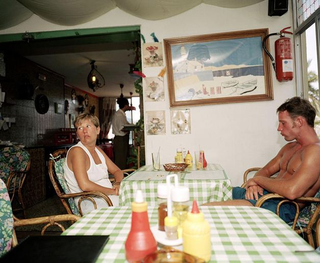 """Bored Couples"", de Martin Parr"