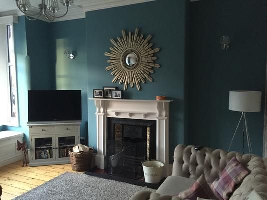farrow and ball stone blue - Google Search
