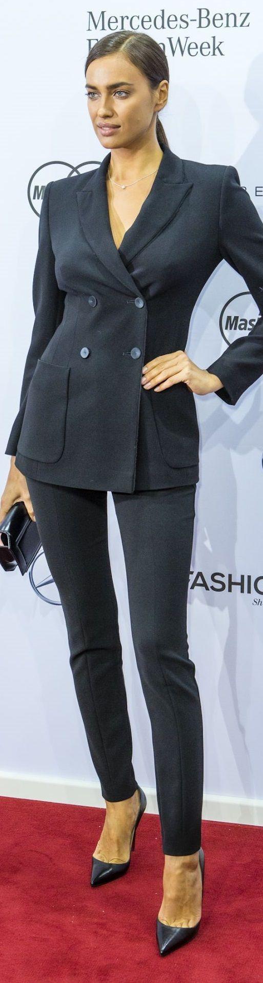 Irina Shayk – Marc Cain Fashion Show – 2016/2017 F/W Berlin Mercedes-Benz Fashion Week in Berlin, January 2016