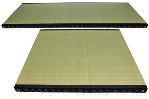 Whether used simply with slats on the floor or on a Tatami Frame, these beautiful, breathable, tatami mats provide the perfect surface to support your natural bed - solid, with just enough bounce. The