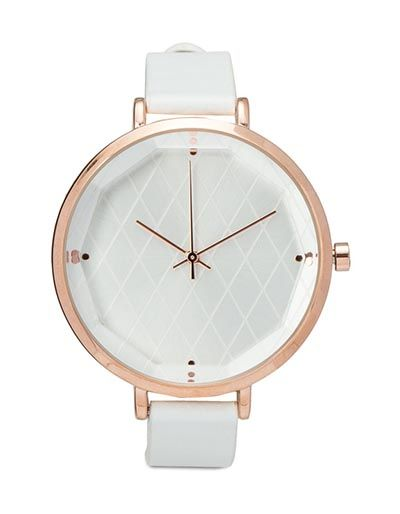 Quilted Face Strap Watch by Zalora. Collection design fashionable accessories are ready to beautify the wrist. Quilted Strap Watch Face of ZALORA, watches with sophisticated design and silver tone accents appropriate to give the impression feminine. http://www.zocko.com/z/JKCsS