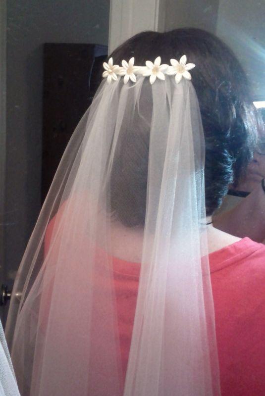 46 best veil images on Pinterest | Wedding frocks, Bridal veils ...
