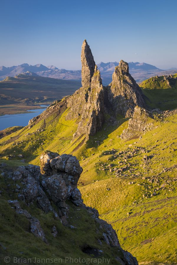 Old Man of Storr - Trotternish Peninsula, Isle of Skye, Scotland. © Brian Jannsen Photography