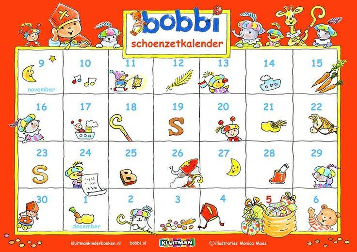 Aftelkalender sint