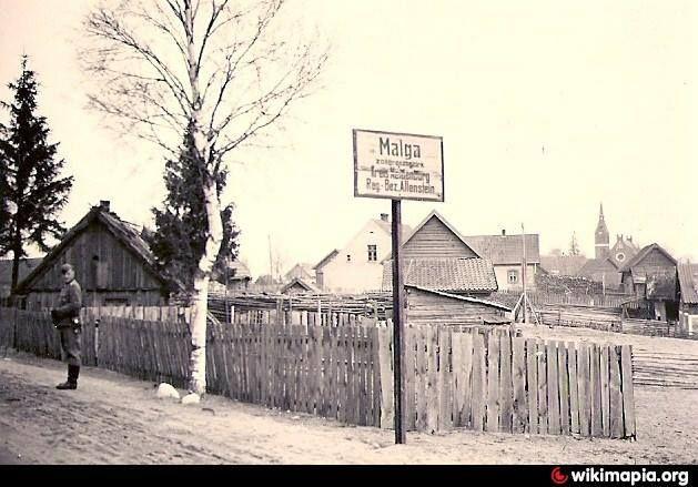 O tym, że istniała kiedyś wieś Małga przypomina już tylko wieża zrujnowanego kościoła