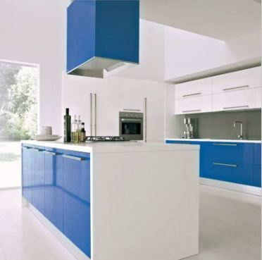 De blauwe keuken: een keuken met pit!