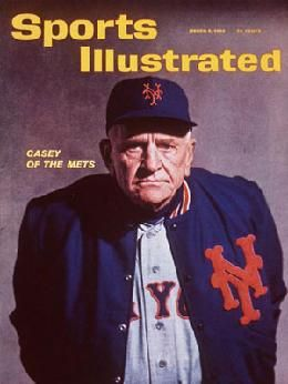1963 Sports Illustrated edition featuring New York Mets Manager Casey Stengel