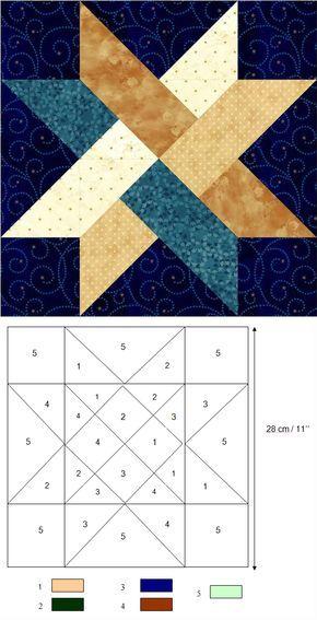 By Maria Peiro Esteban. Inspiration for quilt card.