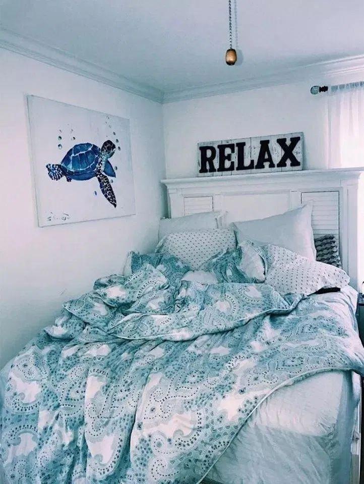 Pinterest Ssanniss Aesthetic Bedroom Beach Room Decor Dorm