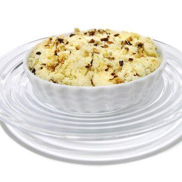 Smulpaj med äpplen och nötter - Recept - Tasteline.com