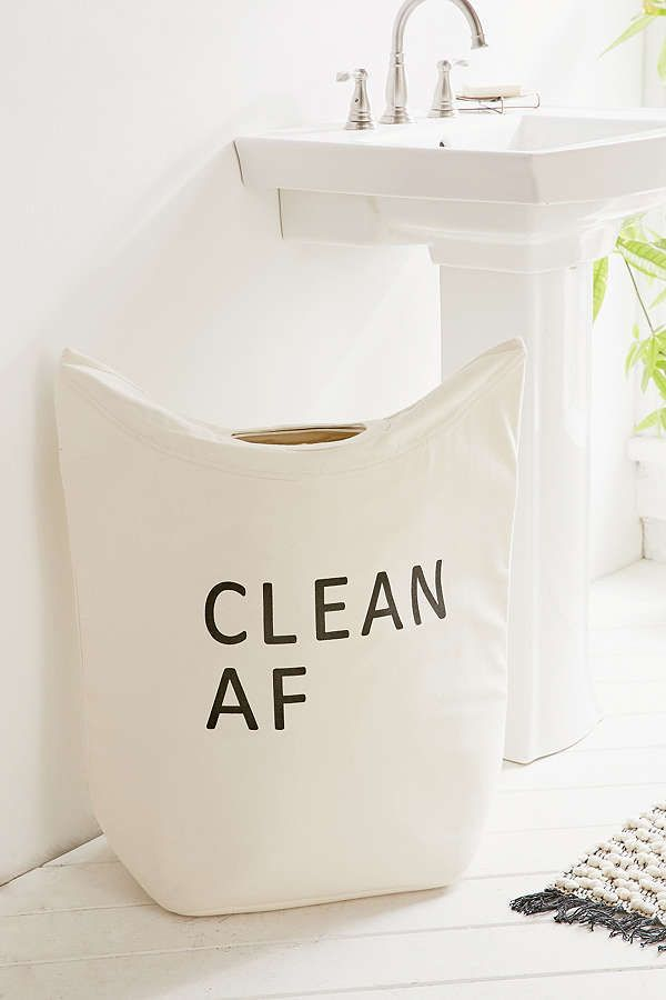 Urban Outfitters Clean Dirty Af Standing Laundry Bag