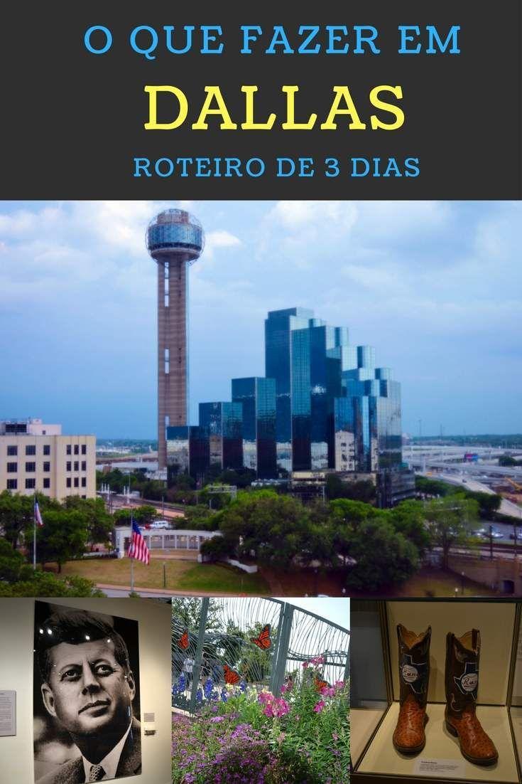 Nosso roteiro de 3 dias em Dallas, com as atrações que escolhemos para conhecer na nossa primeira visita à cidade