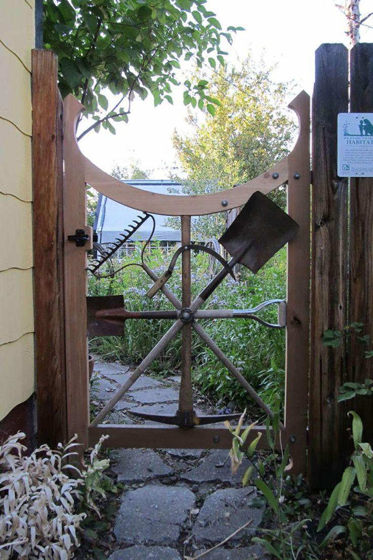 17 Best Ideas About Garden Gates On Pinterest