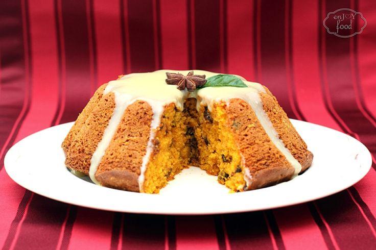 Pumpkin cake - Prajitura cu dovleac copt