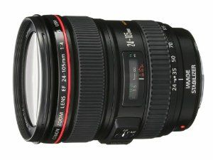 Canon EF 24-105mm f/4 L IS USM Lens for Canon EOS SLR Cameras  Canon $1,149.00