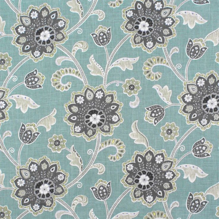Braemore Ankara Pond Fabric