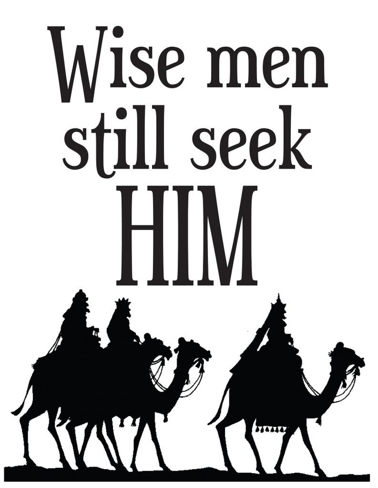 Free Printable: Wise Men Still Seek Him: