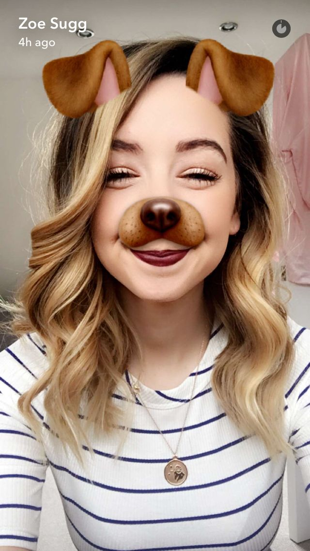 Snapchat Screenshot - Zoë Sugg (OfficialZoella)