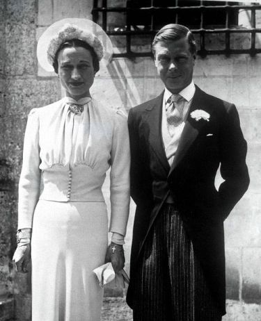 Abdicación por AMOR! Eduardo VIII y Wallis Simpson