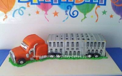 14 Best Semi Truck Birthday Party Images On Pinterest