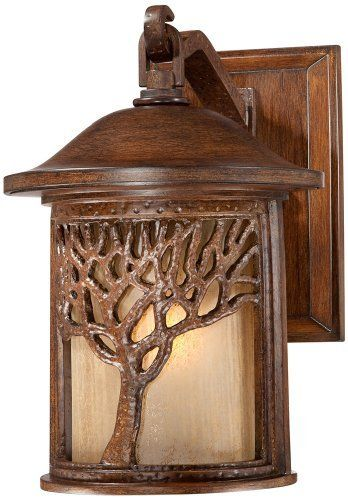 Bronze Mission Style Tree 12 1 4 High Outdoor Wall Light By John Timberland This