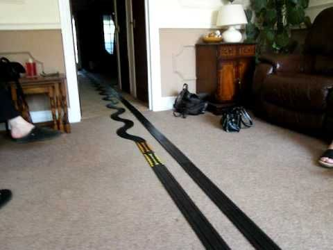 Probably the ultimate indoor micro scalextric layout.   source   ...Read More