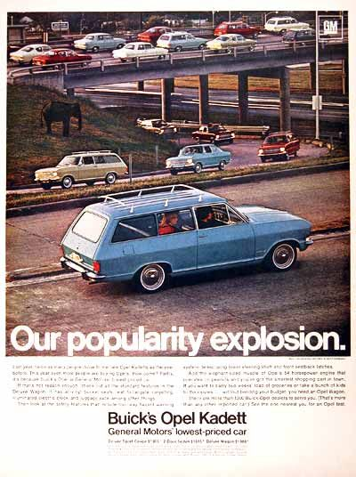 108 best buick vintage advertising images on pinterest car 1967 buick opel kadett station wagon original vintage advertisement photographed in rich color deluxe sciox Choice Image