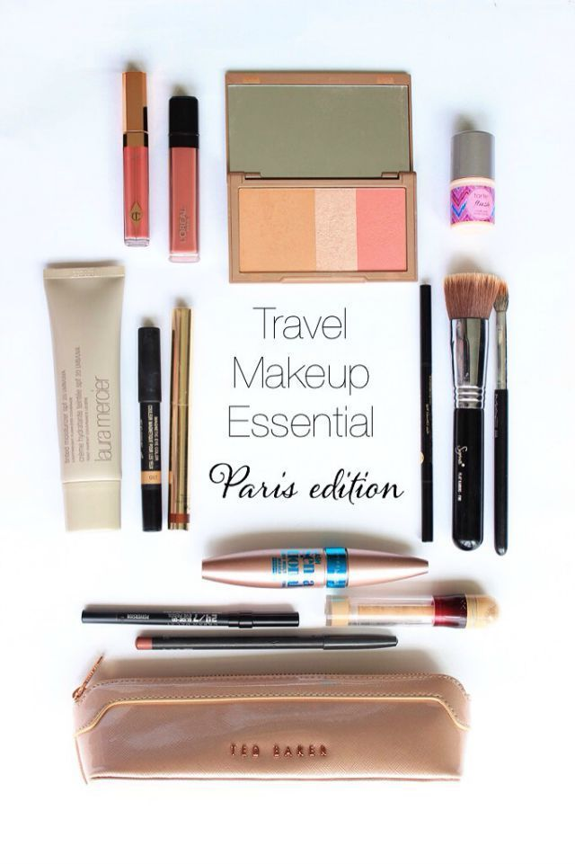 Makeup Essentials Must Haves From Makeup Artists Part 1: 17 Best Ideas About Travel Makeup Bags On Pinterest