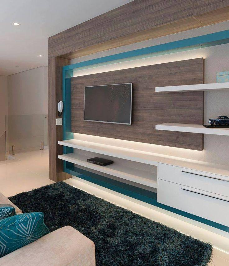 O home theater deve ser um ambiente onde o conforto impera. Projeto com mobiliário S.C.A. planejado pela equipe Virtu Arquitetura.