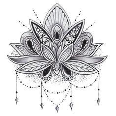 Mandala Lotus Flower – Tattoo