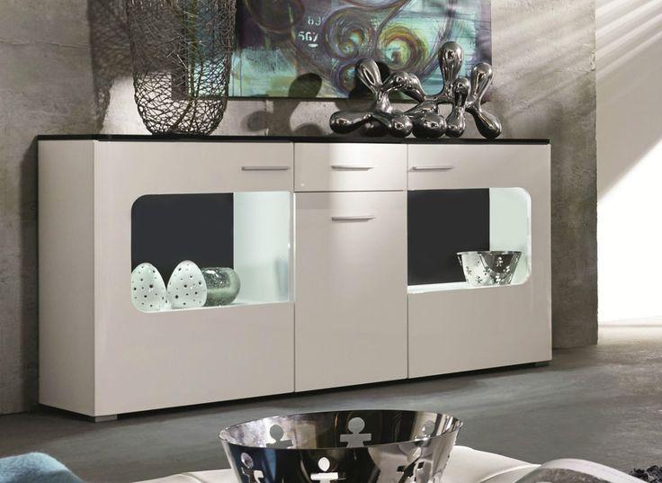 25+ best ideas about sideboard schwarz hochglanz on pinterest ... - Design Mobel Wohnzimmerschrank