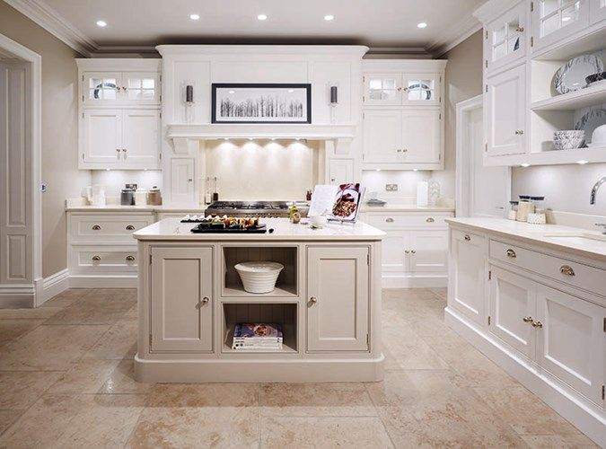Cream Painted Designer Kitchen - Bespoke Kitchens - Tom Howley