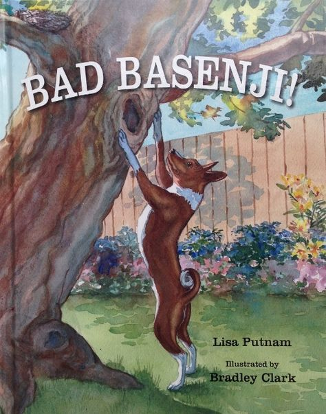 Cute Yes there is a book about bad Basenjis Must read to Indy