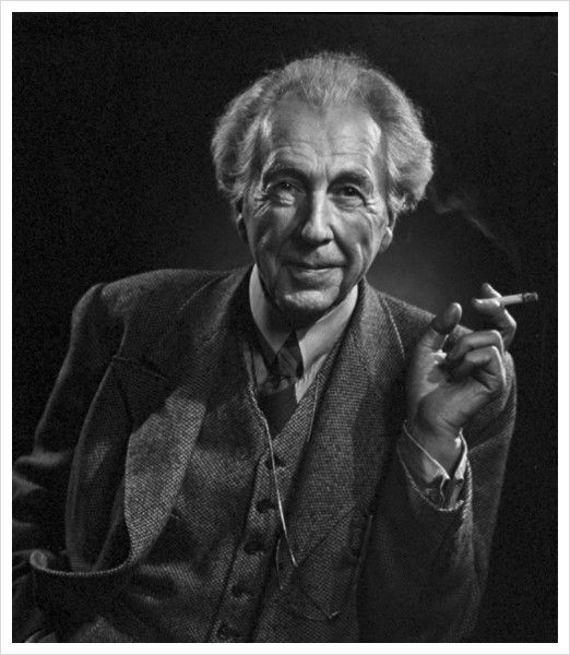 Frank Lloyd Wright by Yousuf Karsh