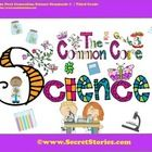 """FREE!!  Cutest EVER Common Core SCIENCE STANDARDS Posters!!  Follow for notification of all """"FREE DOWNLOAD WINDOWS"""" http://thesecretstories.com/"""