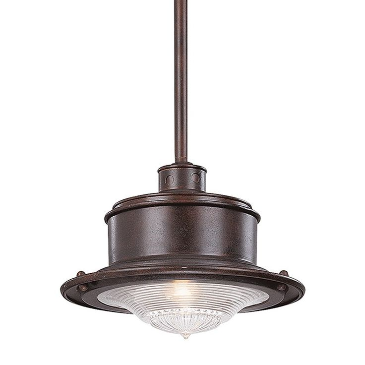 Troy F9395OR South Street Single-Light Small Outdoor Downlight Pendant