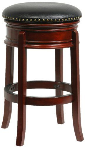 Boraam 43929 Hamilton Swivel Stool 29Inch Cherry U003eu003eu003e Find Out More About  The Great