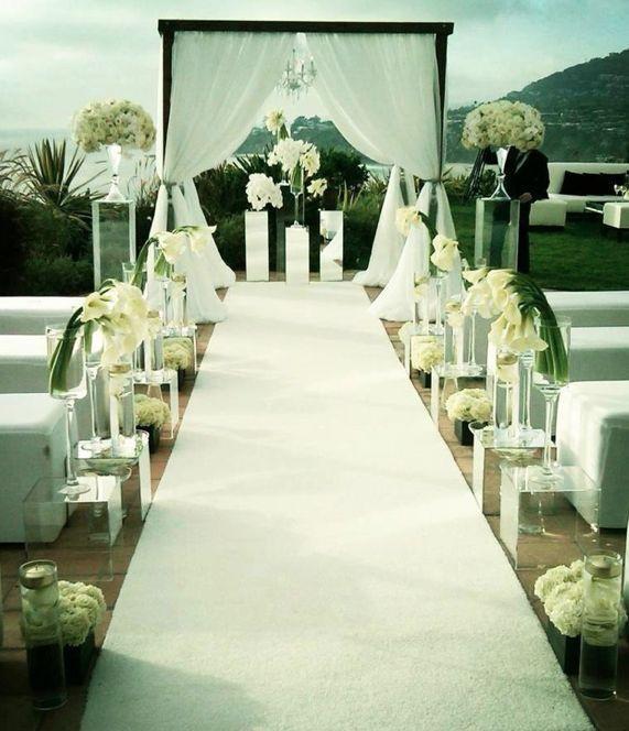 Capitol Inspiration Diy Wedding Ceremony Altars: 186 Best Aisle Decor Images On Pinterest