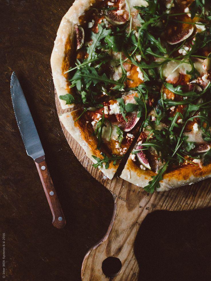 Pizza med fikon och getost | Livet Hemma – IKEA