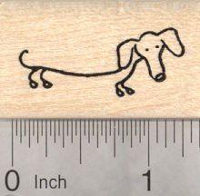 Dachshund Rubber Stamp, Stick Figure Dog by RubberHedgehog, http://www.amazon.com/dp/B00CLVC12Q/ref=cm_sw_r_pi_dp_iDngsb10Z2VHM