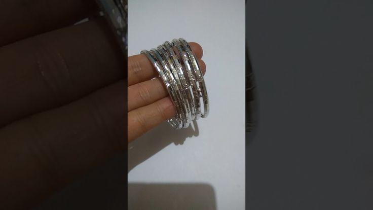 Gelang tangan emas putih